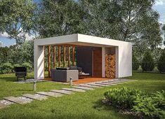 projekt Murator GC101 Budynek gospodarczy WAJ3707