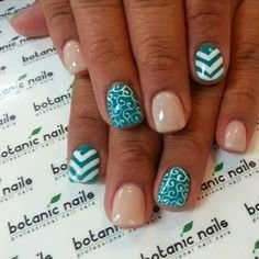 Generally, people thought nail art can be possible on long nails But actually, it's not so! Simple nail art designs for short nails are not only popular Get Nails, Fancy Nails, Love Nails, How To Do Nails, Pretty Nails, Gorgeous Nails, Simple Nail Art Designs, Cute Nail Designs, Easy Nail Art