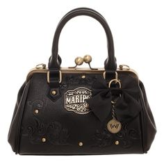 e436cdb6d4 HBO s WestWorld Mariposa Saloon Kiss Lock Handbag Purse Medicine Bag West  World  Bioworld  Handbag