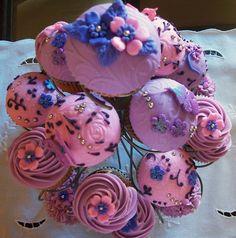Cupcake's house: Cupcakes para la fiesta de los 15 años