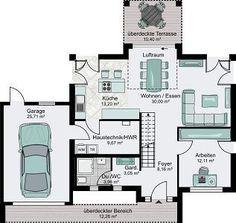 pin von martina burger auf wohnen in 2018 pinterest haus bungalow und grundriss bungalow. Black Bedroom Furniture Sets. Home Design Ideas