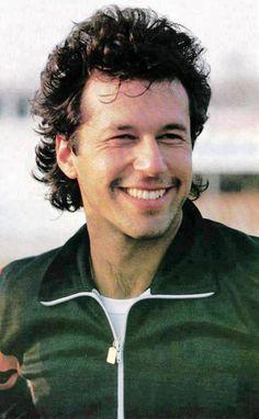 A smile on the face of Pakistani Captain turned politician Imran kHan