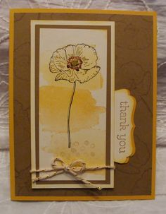 Stampin' Up! Happy Watercolor @ My Tanglewood Cottage