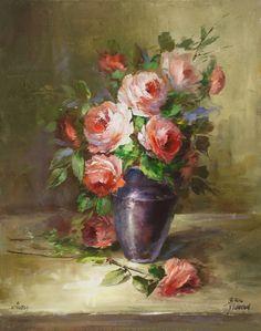 V1109 Rose Impressions Download - Jansen Art Store