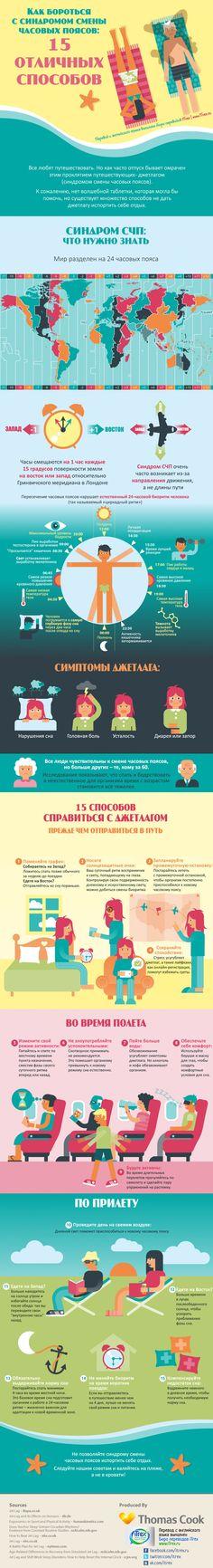 Летите в дальние страны? Мы подскажем как избежать симптомов джетлага. Что такое джетлаг? Читайте в инфографике :) И хороших вам выходных! http://itrex.ru/news/15-sposobov-borotsya-s-jetlag
