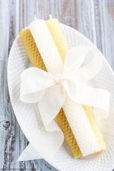 DIY: Beeswax Candles | Shelterness