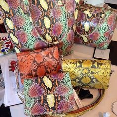 BAGS!!! my sis will love the the animal print