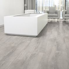 Laminate Flooring Colors Aquastep Waterproof Laminate Flooring Oak Grey V-Groove. Laminate Flooring In Kitchen, Laminate Flooring Colors, Waterproof Laminate Flooring, Grey Flooring, Flooring Options, Wooden Flooring, Flooring Ideas, Light Grey Wood Floors, Gray Hardwood Floors
