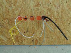 Elektroinstallation Hohlwanddosen einsetzen