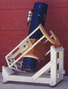 homemade equatorial mount newtonian telescope | The old dob mount served for 18 years, but having no clock drive got ...