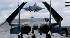 Noticia Final: Por que 2 caças do porta-aviões Admiral Kuznetsov ...