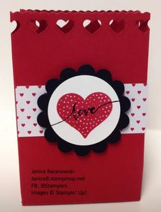 Love in a Bag -just in time for Valentine's Day treats.  - #JBStampers
