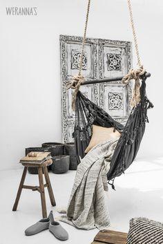 interior design, hammock chair, warehous, swing