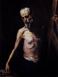 Jusepe de Ribera, Saint Andrew, 1630-32