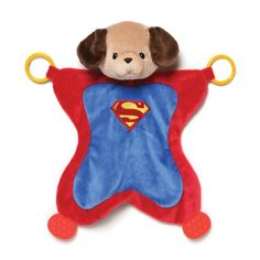 Gund Baby Dc Comics Griffin as Superman Activity Baby Blanket