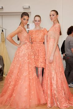 150 backstage photos of Elie Saab at Couture Spring 2012.