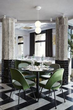 Café San George by Framework Architects, Amsterdam  - Retailand Restaurant Design