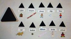 Montessori Noun Box - A Parts of Speech Lesson by Amy Kuhl Cox - Etsy