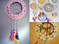 Trendy Diy Art For Kids Room Dream Catchers Ideas Summer Art Projects, Art Projects For Teens, Cool Art Projects, Art For Kids, Diy Crafts For Teens, Hobbies And Crafts, Diy And Crafts, Kids Airplane Crafts, Peter Pan Crafts