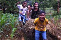 volunteer bali organic garden