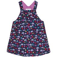 Girls' Woodland Dungaree Dress D2512