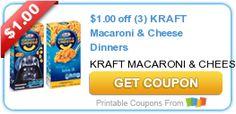 Great Deals on Both Kraft & Velvetta Mac & Cheese at Walmart!