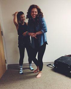 Brittany and Jordyn//