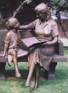 Mother and Daughter  by Glenna Goodacre America's Sculptor