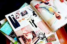 magazines are a great source of fashion inspiration
