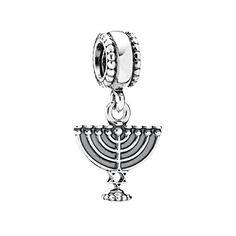 Pandora Pendant/Dangle Menorah