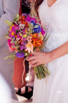 Ramo de novia Veraniego Primaveral
