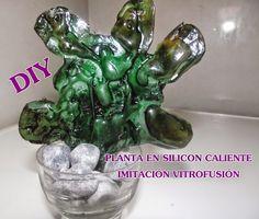 Diy-Inspiration: DIY PLANTAS EN SILICONA CALIENTE UNA NUEVA IDEA DE...