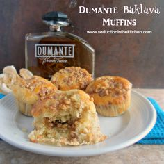 Dumante Baklava Muffins Recipe - Seduction in the Kitchen & ZipList