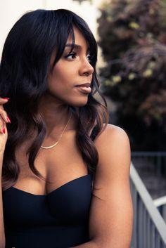Burgers & beauty tips with Kelly Rowland. Kelly Rowland Style, Mademoiselle Yulia, Natural Hair Styles, Long Hair Styles, Black Celebrities, Celebs, Ebony Beauty, Black Girls Rock, Beautiful Black Women