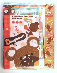 Q-Lia Milk Choco Bear - ordered