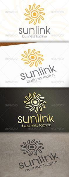 Sun - Logo Design Template Vector #logotype Download it here: http://graphicriver.net/item/sun-logo/6719902?s_rank=642?ref=nexion