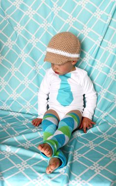 Any Tie Onesie and Leg Warmers / Leggings by ChicCoutureBoutique, $24.95