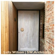 See this Instagram post by @auburnwoodturning • 87 likes Mix of old and new to create this rustic brick and timber entrance. Handle is the classic large round. Photo courtesy of Sally Wilson of SW.Architects.
