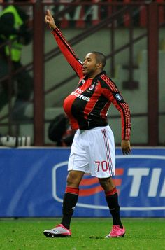 Robson de Souza (born 25 January 1984), more commonly known as'Robinho', is a Brazilian footballer who plays as forward or winger for Serie A club Milan and the Brazil national team. Robinho is known for his ball control, attacking instinct and speed. In 1999, at only 15 years of age, Robinho was personally picked by Brazil legend Pelé as his heir apparent and went on to lead Santos FC to their first Campeonato Brasileiro title since Pelé himself played for the club.