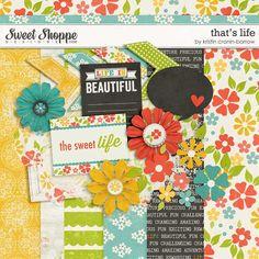 Quality DigiScrap Freebies: Thats Life mini kit freebie from Kristin Cronin-Barrow