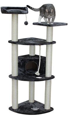 Kitty Mansions Toronto Cat Tree - Mocha ** You can get more details here : Cat Beds and Furniture