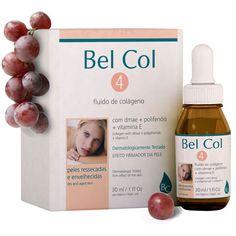 Bel Col 4 Con la función deanti-edad, actúa sobre la hidratación de la piel y aumenta significativamente el tono de la piel. Nos protege de los agentes externos, de la sequedad y aspereza.