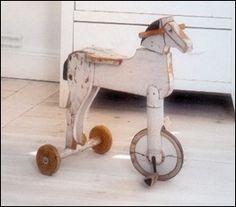 vintage horse...