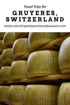 Switzerland is an amazing place to visit! Plan your trip with these tips! Switzerland/ Gruyeres, Switzerland/ Gruyere Cheese/ Switzerland travel/ travel Switzerland/ Exploring Swizerland/ Explore Europe/ Travel Europe/ European vacation/ wanderlust/ Swiss cheese/
