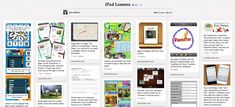 iPad Lessons - Lisa Johnson from Techchef4u has put all of her iPad lessons onto Pinterest.