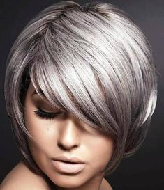 silver+bob+hairstyle