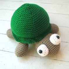 Tino the Turtle amigurumi pattern by FreshStitches