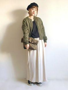 レオパード柄バッグがアクセントの、少し辛口コーデ♡ インスタ→terawear ブログ→プロフィール