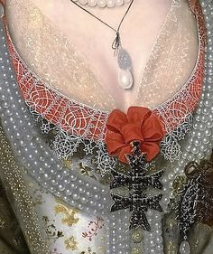 Anne of Denmark by Marcus Gheeraerts the Younger