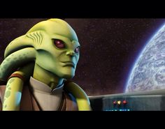 Kit Fisto was a renowned male Nautolan Jedi Master in the waning years of the Galactic Republic. During the Clone Wars, he served as a Jedi General in the Grand Army of the Republic, as well as a member of the Jedi High Council. Fisto participated in and survived the Battle of Geonosis and led a team in the assault during the Battle of Mon Calamari. Due to his exemplary achievements during the Clone Wars, Fisto was appointed to the Jedi Council.